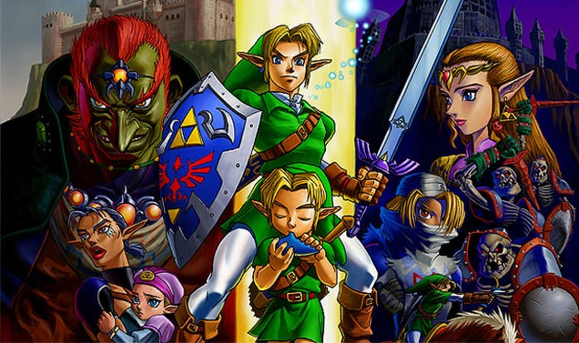 The Pleasure Of Playing A Randomized Version Of The Legend Of Zelda: Ocarina Of Time