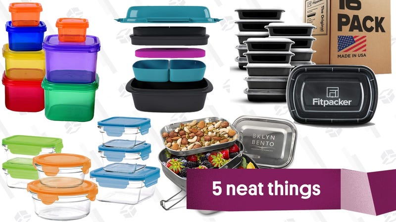 Illustration for article titled Five Easy-to-Clean Food Storage Containers For Meal Preppers
