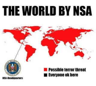 Illustration for article titled NSA Global Threat Map