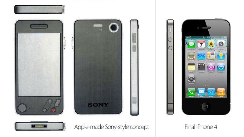 Illustration for article titled Proof That the iPhone 4 Could Have Been a Sony Product—According to Apple Itself