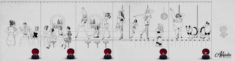 Illustration for article titled Egy ékszerért mindent megbocsájt a nő? Képregények egyetlen kockában