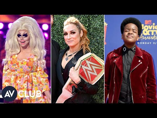 Trixie Mattel, Becky Lynch and more remember the first movie they saw in theaters