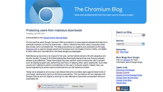 Illustration for article titled Remains of the Day: Google Chrome And Chromium Have Your Back Against Malicious Downloads