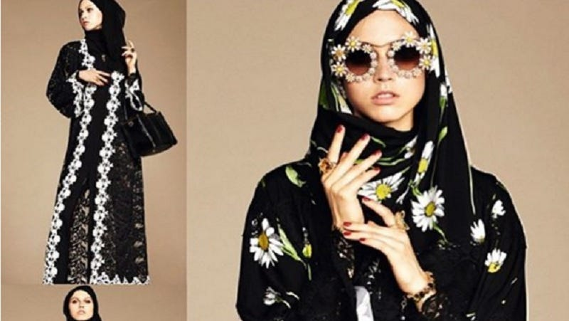 Illustration for article titled Dolce & Gabbana Debuts a New Line of Abayas and Hijabs