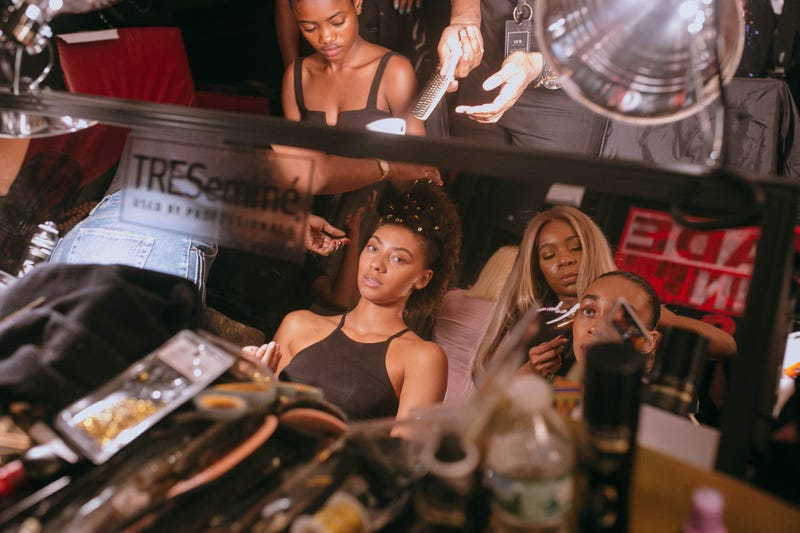Backstage at Harlem's Fashion Row
