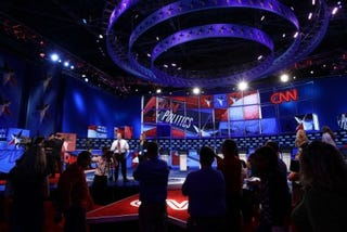 CNN GOP debate (Getty Images)