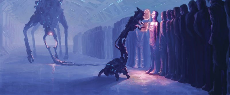 Illustration for article titled Concept Art Writing Prompt: Unnatural Selection