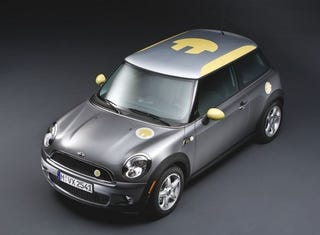 Illustration for article titled Electric MINI E Officially Revealed, Bringing 204-HP Li-Ion Battery Pack To LA Auto Show