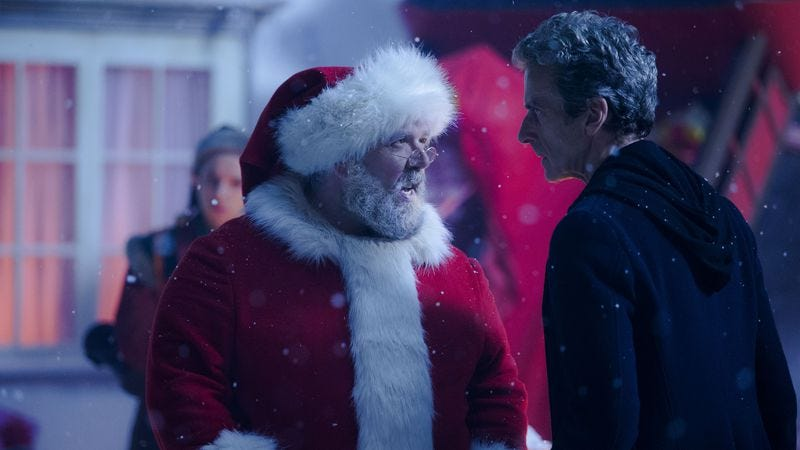 """Illustration for article titled Doctor Who: """"Last Christmas"""""""