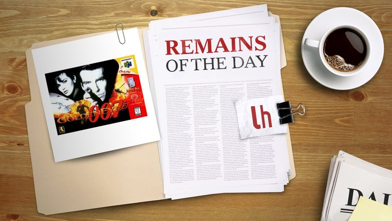 Illustration for article titled Remains of the Day: GoldenEye 007 Gets an Unofficial HD Remake