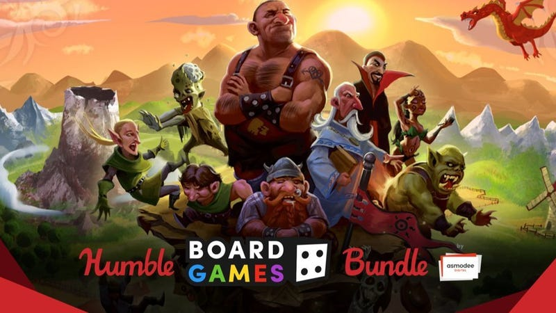 Humble Board Games Bundle | $1+ | Humble Bundle