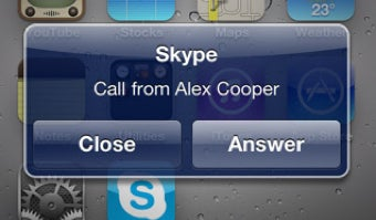Illustration for article titled Skype for iPhone Update Supports Multitasking and Fee-Free 3G Calls