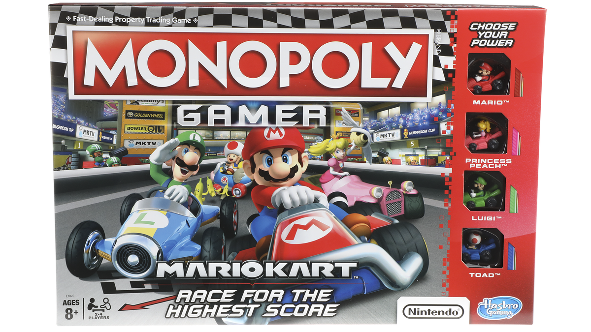 The Latest Twist On Monopoly Is    Mario Kart