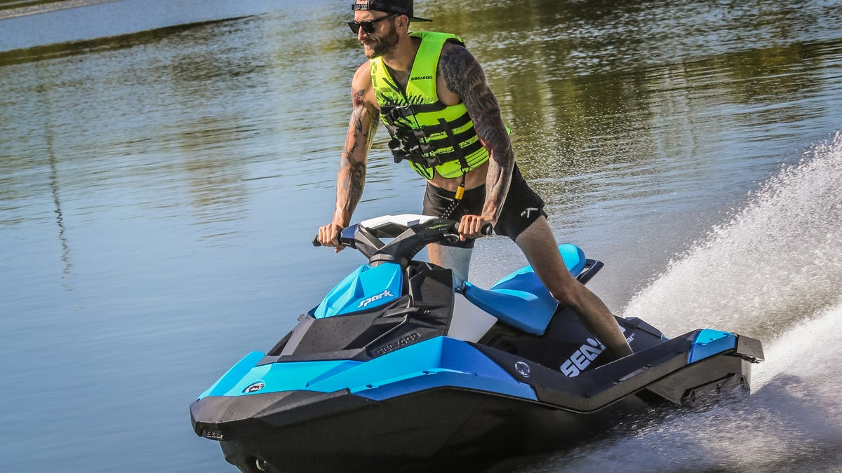 What It's Like To Pilot A Supercharged 300 HP Sea Doo With Brakes