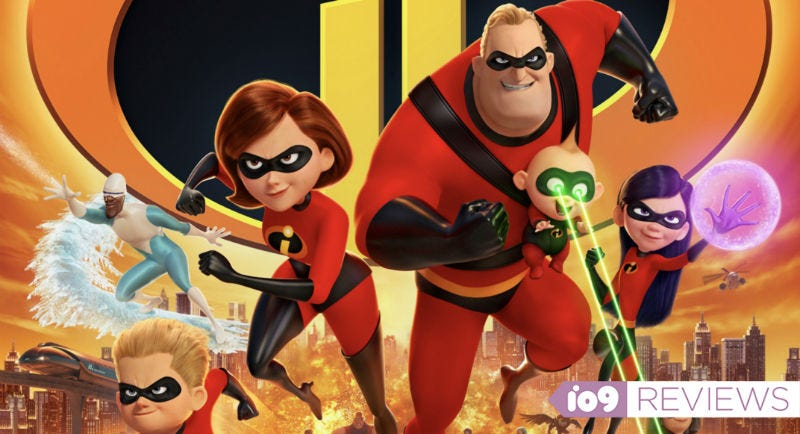 The Parrs are back in Brad Bird's Incredibles 2.