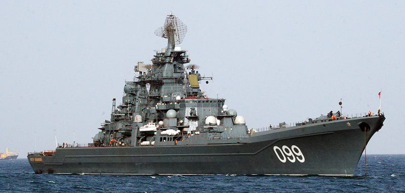 Illustration for article titled Russia's Kirov-Class Battlecruiser Fleet Is Expanding And Becoming Far More Capable