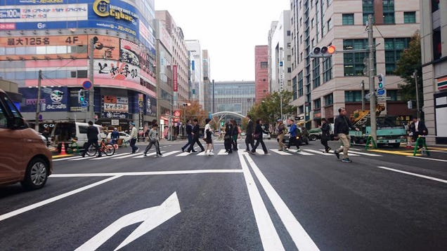 Japan's 'Repaired' Sinkhole Is Sinking Again