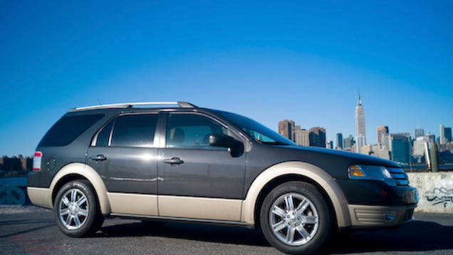 2008 ford taurus x day one. Black Bedroom Furniture Sets. Home Design Ideas