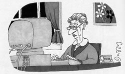 Illustration for article titled Grandma Charged With Obscenity For Writing Dirty Stories
