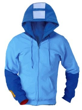 Illustration for article titled Mega Man Hoodie Will Keep You Warm Against Ice Man