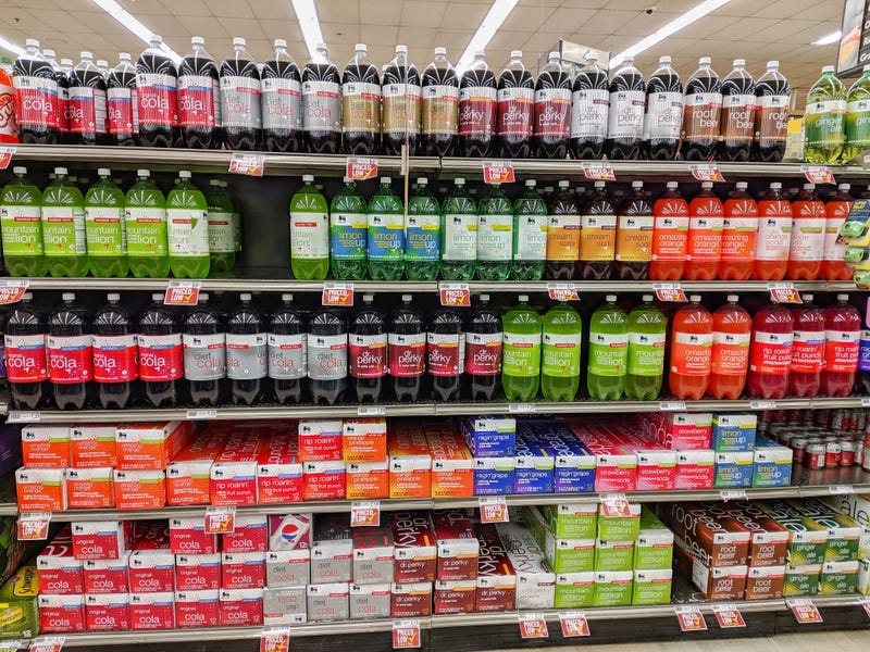 Illustration for article titled Food Lion has the best generic soda names of any supermarket