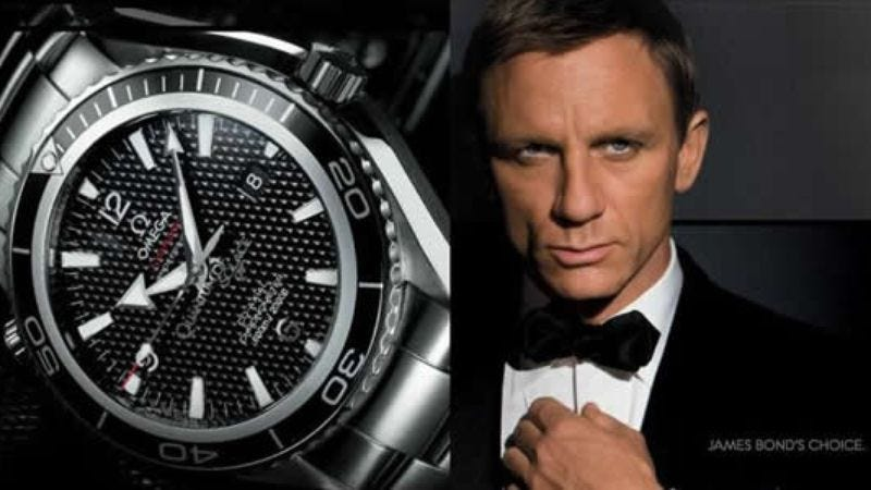 Illustration for article titled The next James Bond film will have a record amount of product placement