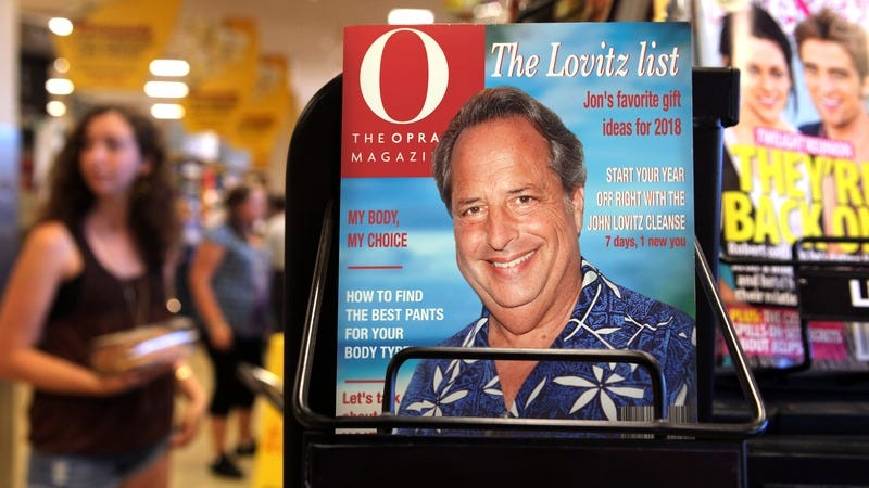 Illustration for article titled Preparing For 2020? Oprah Just Handed Off Control Of 'Oprah' Magazine To Jon Lovitz