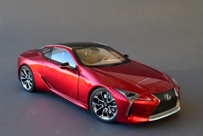 Illustration for article titled AUTOart Lexus LC500