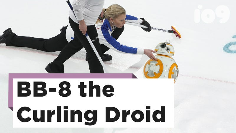 Illustration for article titled BB-8 Curling Is the Olympic Sport We All Need
