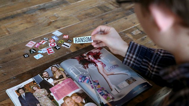 Kidnapper Pleasantly Surprised To Find Word 'Ransom' In Magazine He Cutting Letters Out Of