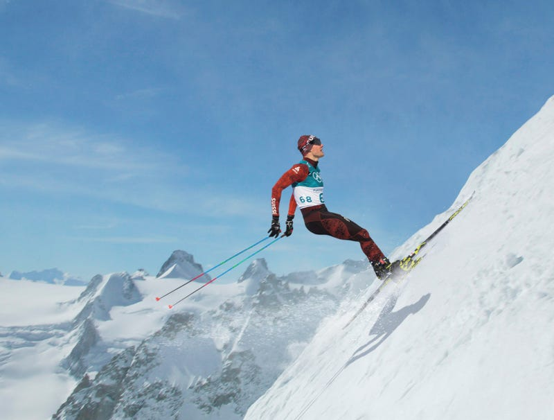 Illustration for article titled Uphill Skiing Competition Enters 6th Day