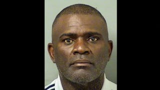 This booking photo, provided by the Palm Beach County, Fla., Sheriff's Department, shows ex-NFL football player Lawrence Taylor, who was arrested Sept. 2, 2016, in Palm Beach County on a DUI charge.Screenshot