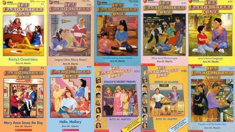 Illustration for article titled How Many Of These 'Baby-Sitters Club' Books Have You Read?