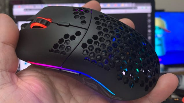 The Secret To The World's Lightest Gaming Mouse Is Lots Of Holes