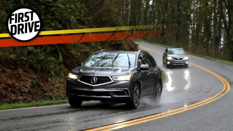 The Acura MDX Sport Hybrid Really Does Feel Related To The NSX - 2018 acura mdx hitch