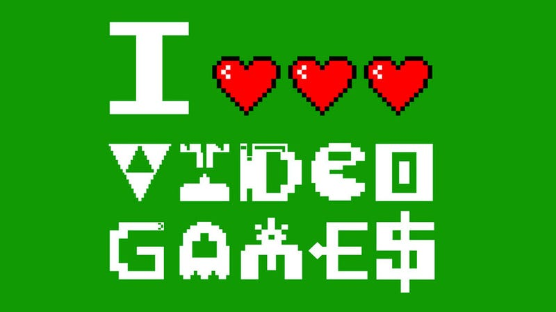 Illustration for article titled When One Heart Isn't Enough to Signify Your Love for Gaming
