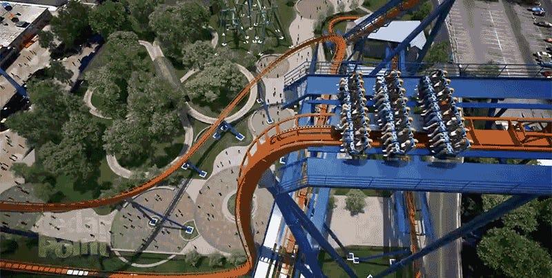 Cedar Point's Giant New Coaster Will Shatter Ten World