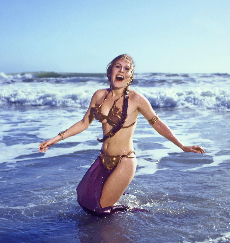 Proof Actually Her Leia That On Bikini Beach Used Princess A Real 0mwnNv8