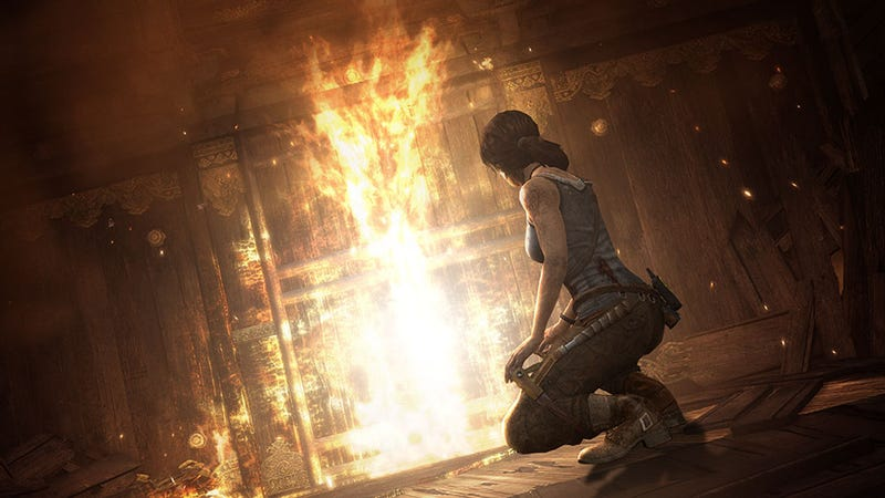 Illustration for article titled Tomb Raider's Film Reboot Will Mirror the New Game, Studio Says