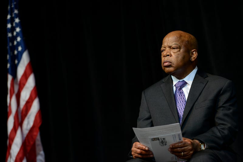 Illustration for article titled Sign of the Times: Rep. John Lewis Admits He's Less Hopeful in 2019 Than He Was on Bloody Sunday