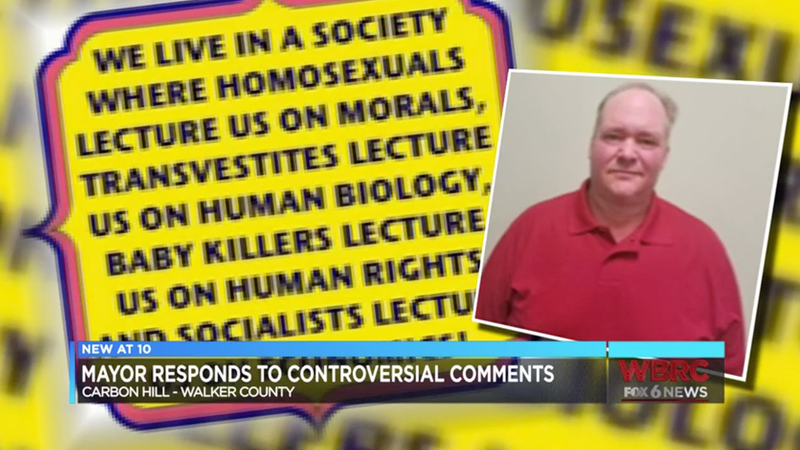 Illustration for article titled Just in Time for Pride, Small-Town Alabama Mayor Writes He Wants to 'Kill the Problem' of 'Homosexuals'
