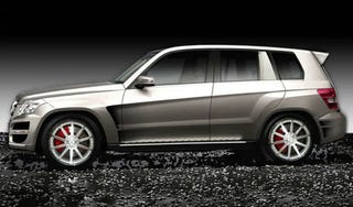Illustration for article titled RENNTech Prepping Rally-Inspired Mercedes GLK Hybrid For SEMA