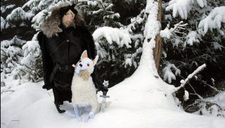 Illustration for article titled Plush Jon Snow is the best Game of Thrones toy we've ever seen