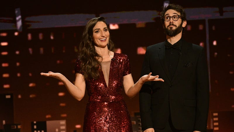 Illustration for article titled Sara Bareilles and Josh Groban lend an infectious energy to the wonderfully earnest 72nd Annual Tony Awards