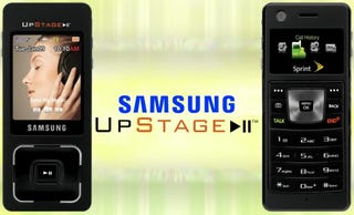 """Illustration for article titled Samsung Ultra Music Phone Re-Branded """"Upstage"""""""