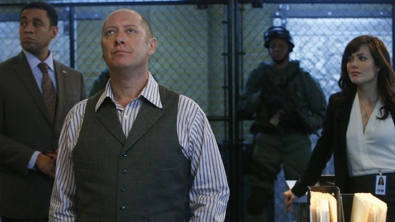Illustration for article titled NBC renews The Blacklist for a second season, since that's all it can give it right now