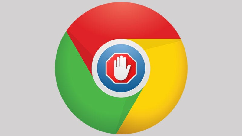 Illustration for article titled Por qué el plan de Google de integrar su propio adblock en Chrome puede ser una excelente noticia