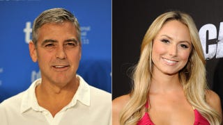 Illustration for article titled George Clooney And Stacy Keibler Take Some Sort Of 'Next Step'