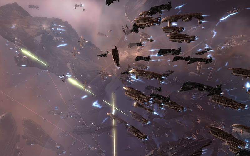 Illustration for article titled Your Space Battles Shaped The Stories In The New EVE Online Comic Book