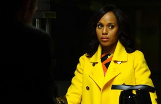 Scandal's Olivia (Kerry Washington) done lost her mind.Richard Cartwright/ABC